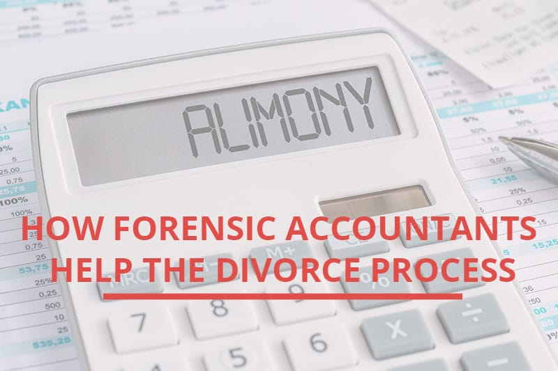 "calculator that says ""alimony"" with legal documents."